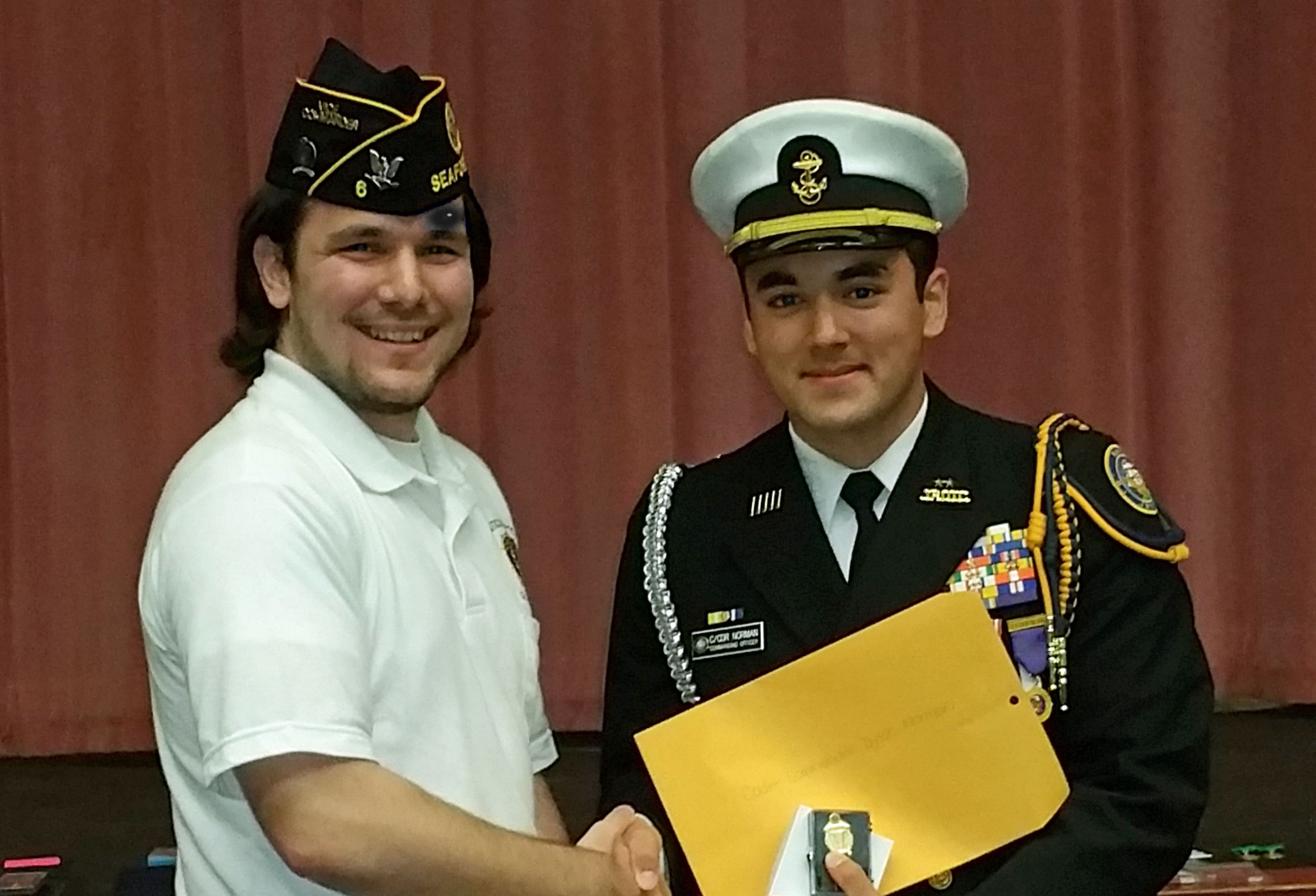 2018 Seaford NJROTC Cadet of the Year - Dylan Norman